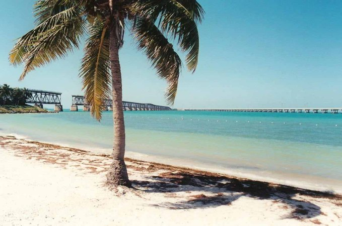 Bahia Honda Bridges - Lower Keys, FL - 2000