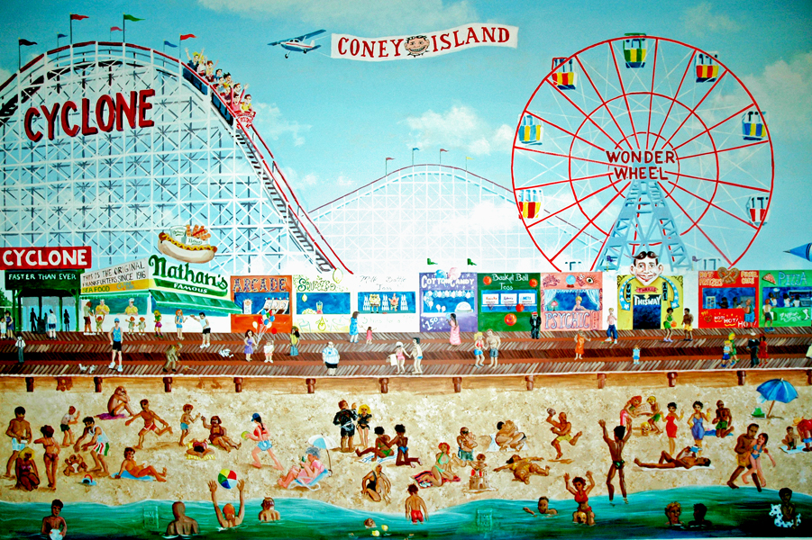 Coney Island Covered Rides