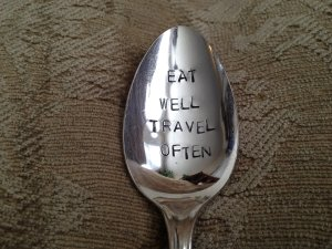 eat well travel often quote