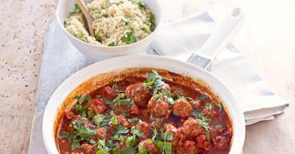 moroccan meatballs couscous