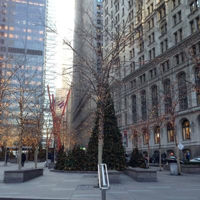 christmas lights in new york nyc
