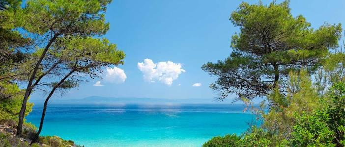Chalkidiki Greece view