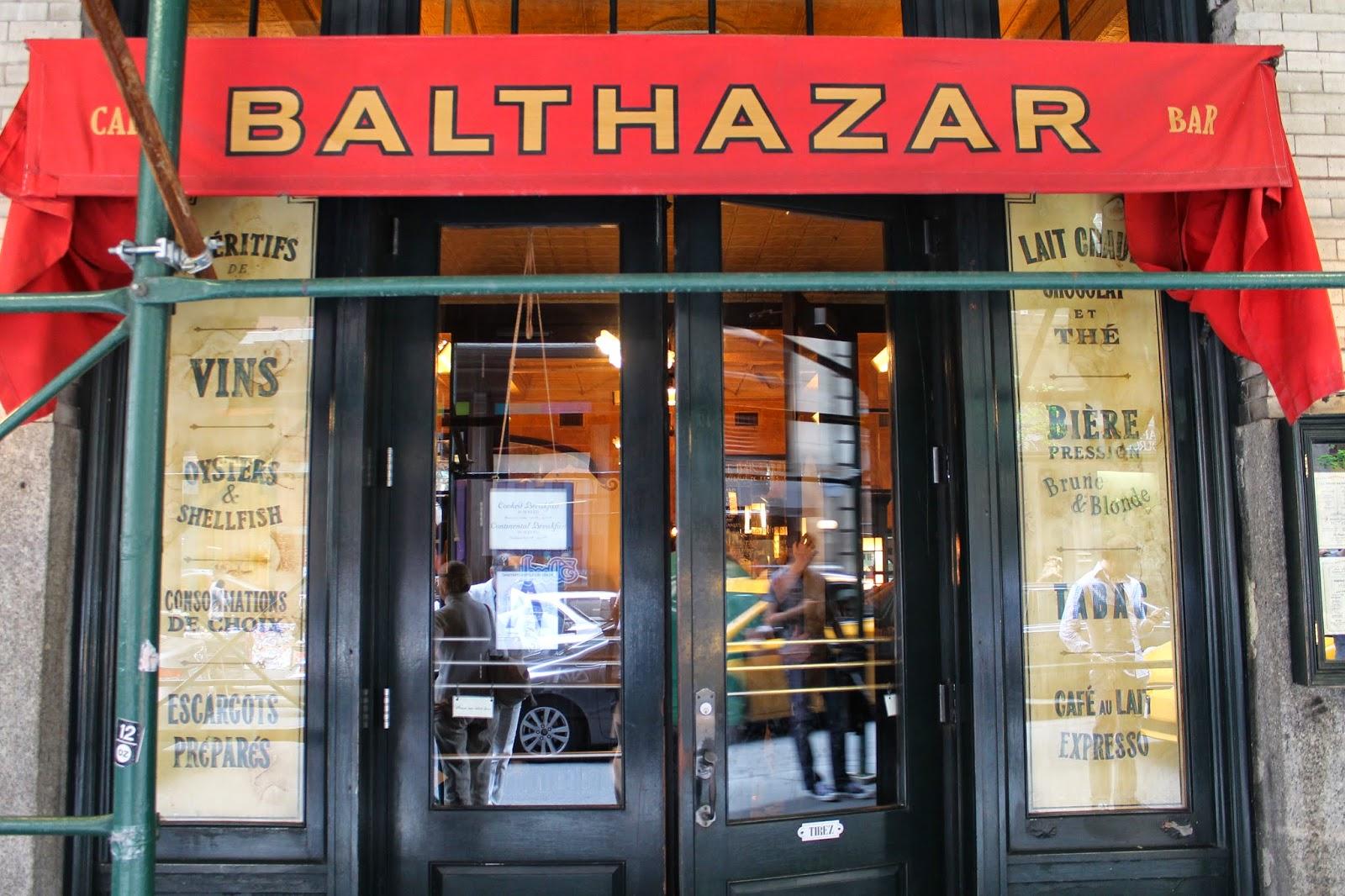 Balthazar Restaurant Nyc Menu