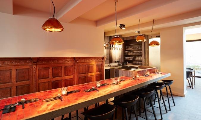 NXT door restaurant bruges indoor