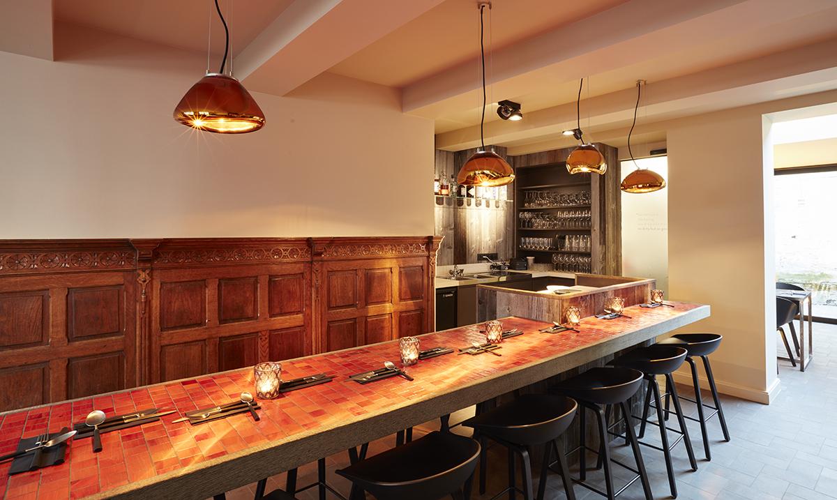 NXT door restaurant bruges indoor & Restaurant review: NXT Door Bruges | The Tasty Traveller
