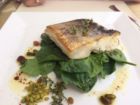 Amante Beach Club Ibiza fish