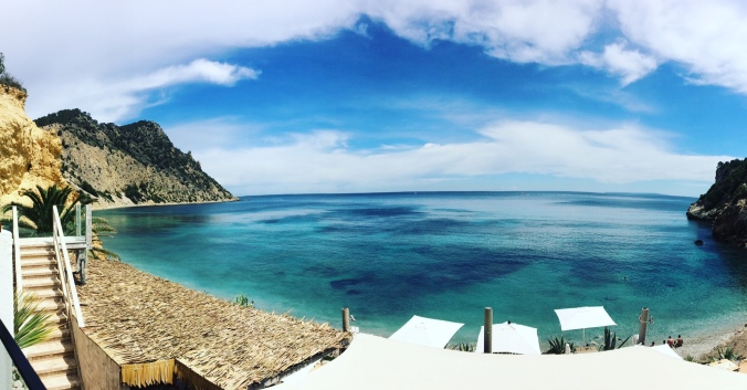 Amante Beach Club Ibiza panoramic view