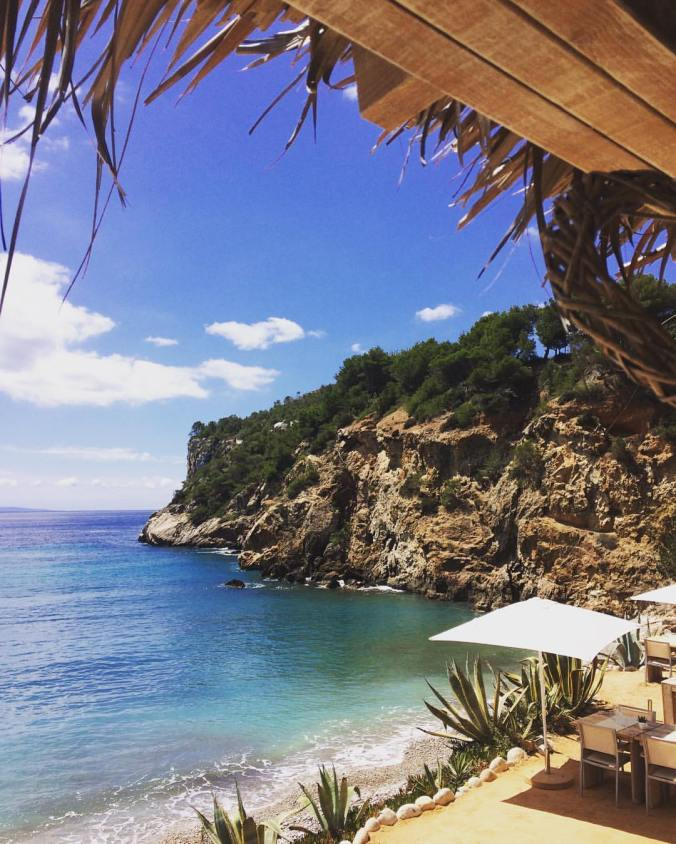 Amante Beach Club Ibiza view