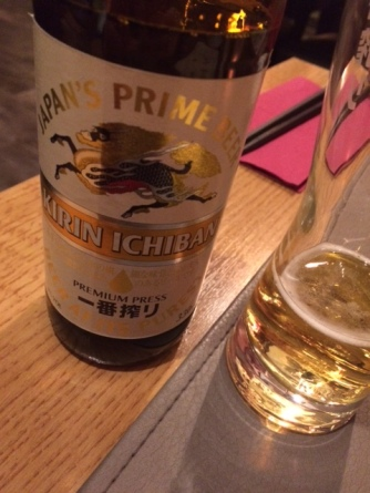 Sushi Paradise Ghent beer