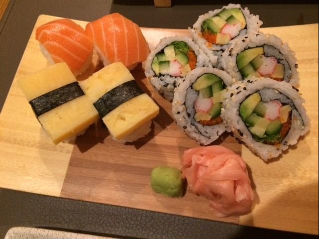 Sushi Paradise Ghent sushi platter